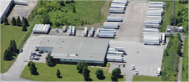Seaway Express Headquarters in Cornwall, Ontario